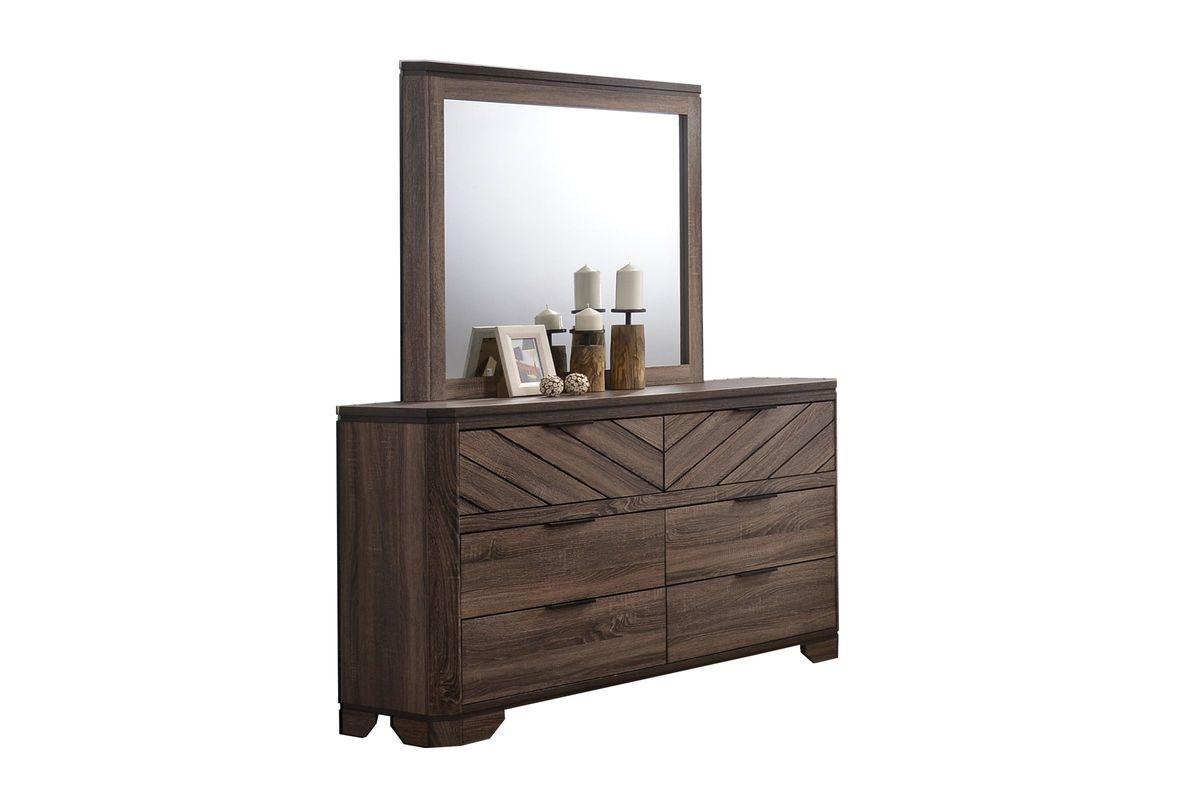Seaburg Dresser + Mirror from Gardner-White Furniture
