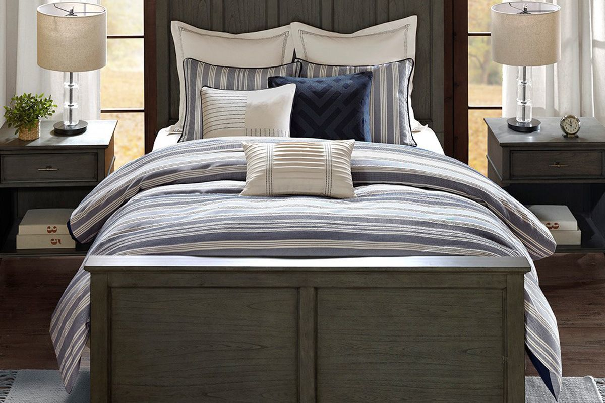 Park 8-Piece Queen Comforter Set from Gardner-White Furniture