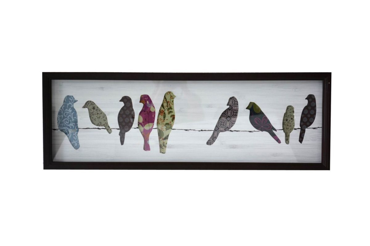 Birds on a Wire Wall Art from Gardner-White Furniture