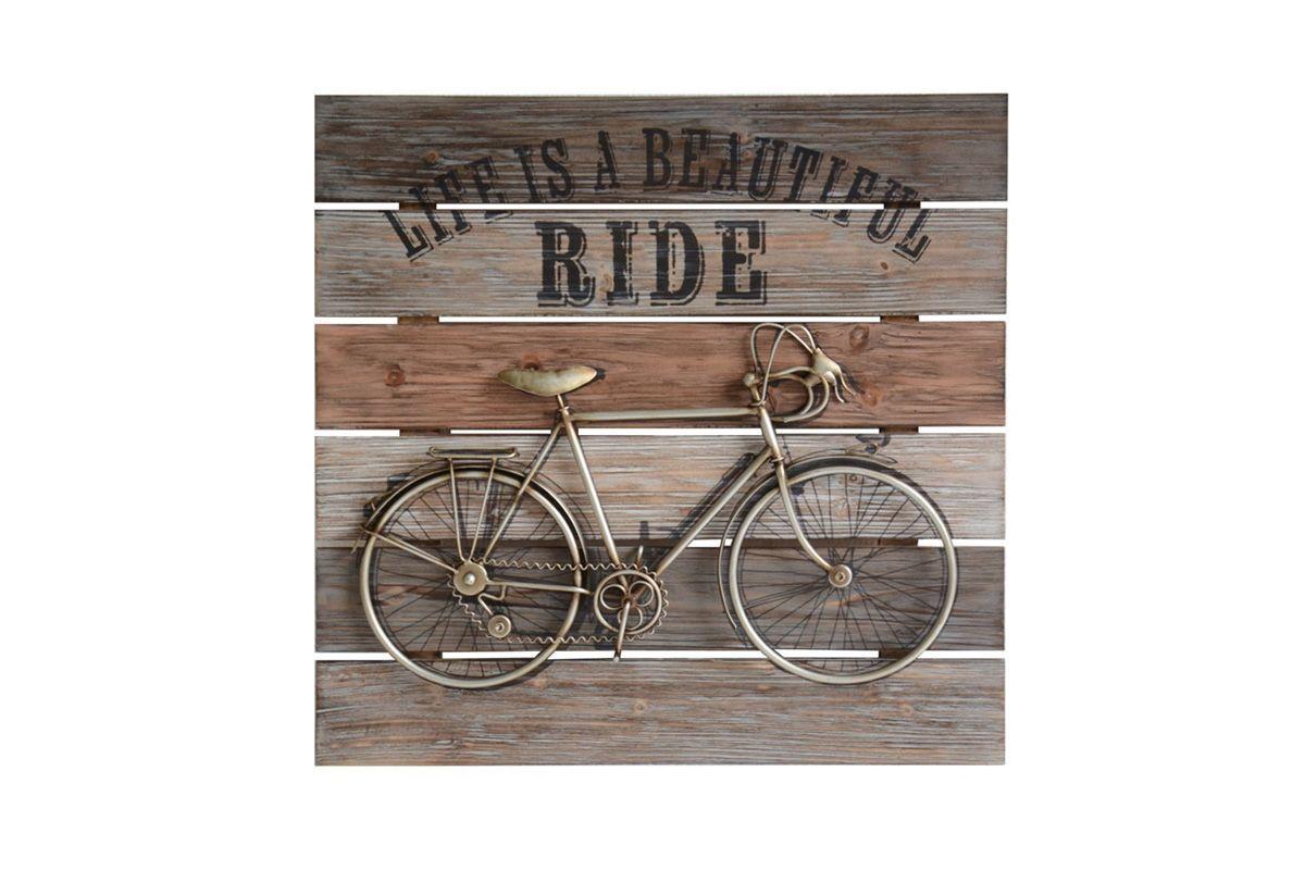 Vintage Bike Wall Art from Gardner-White Furniture