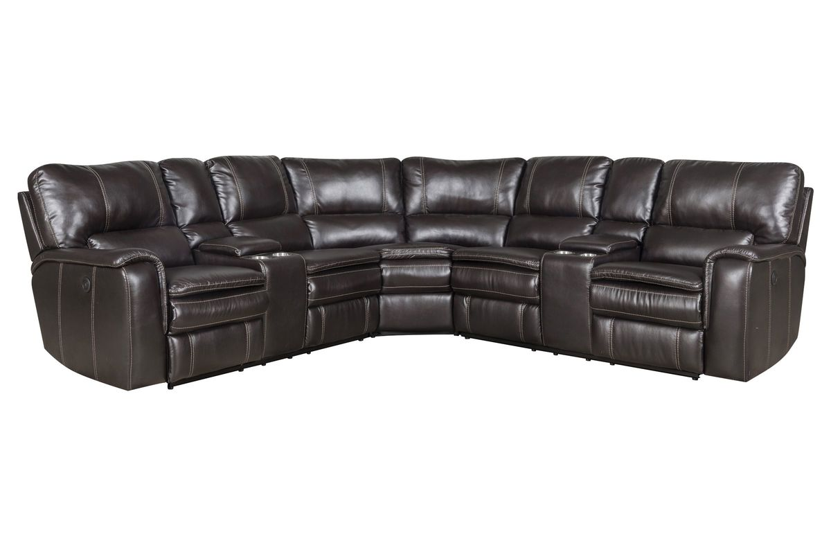 Norwood Power Reclining Sectional from Gardner-White Furniture