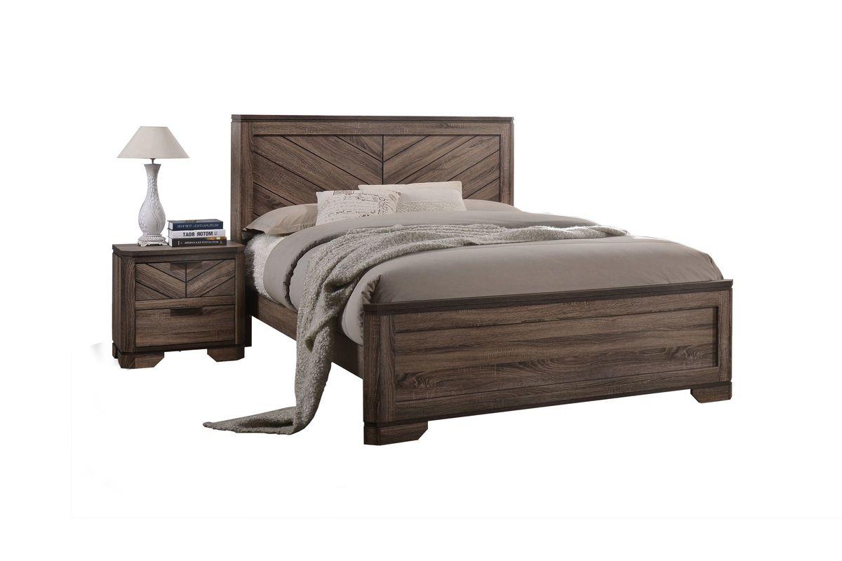 Seaburg Full Bed from Gardner-White Furniture