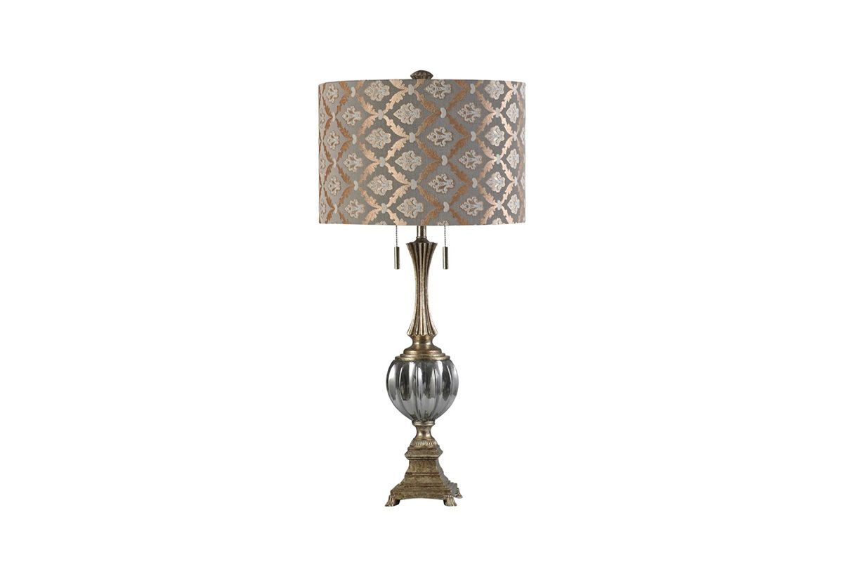 Beverly Glass Table Lamp from Gardner-White Furniture