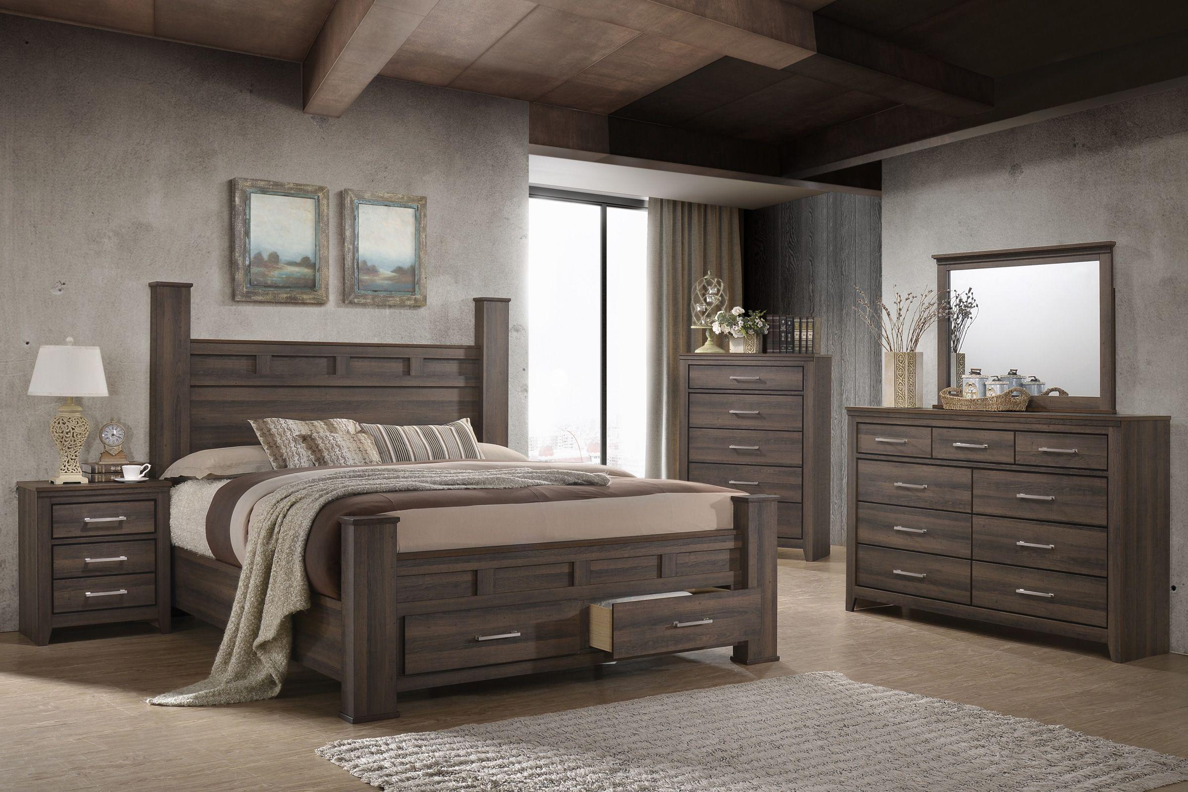 Danville 5 Piece Queen Bedroom Set At Gardner White