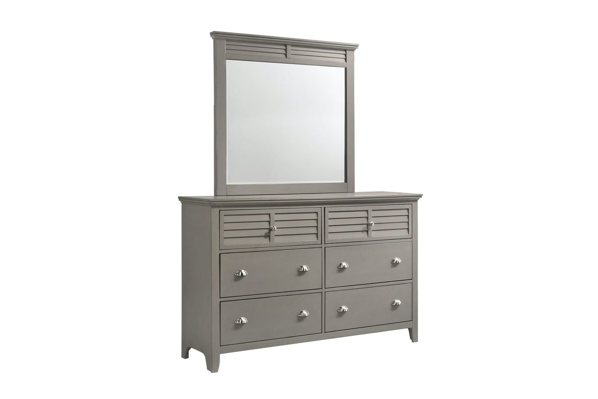 Grant Dresser with Mirror from Gardner-White Furniture