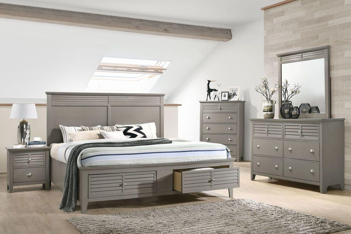 Grant 5-Piece King Bedroom Set from Gardner-White Furniture