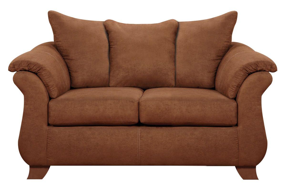 Vista Microfiber Loveseat from Gardner-White Furniture