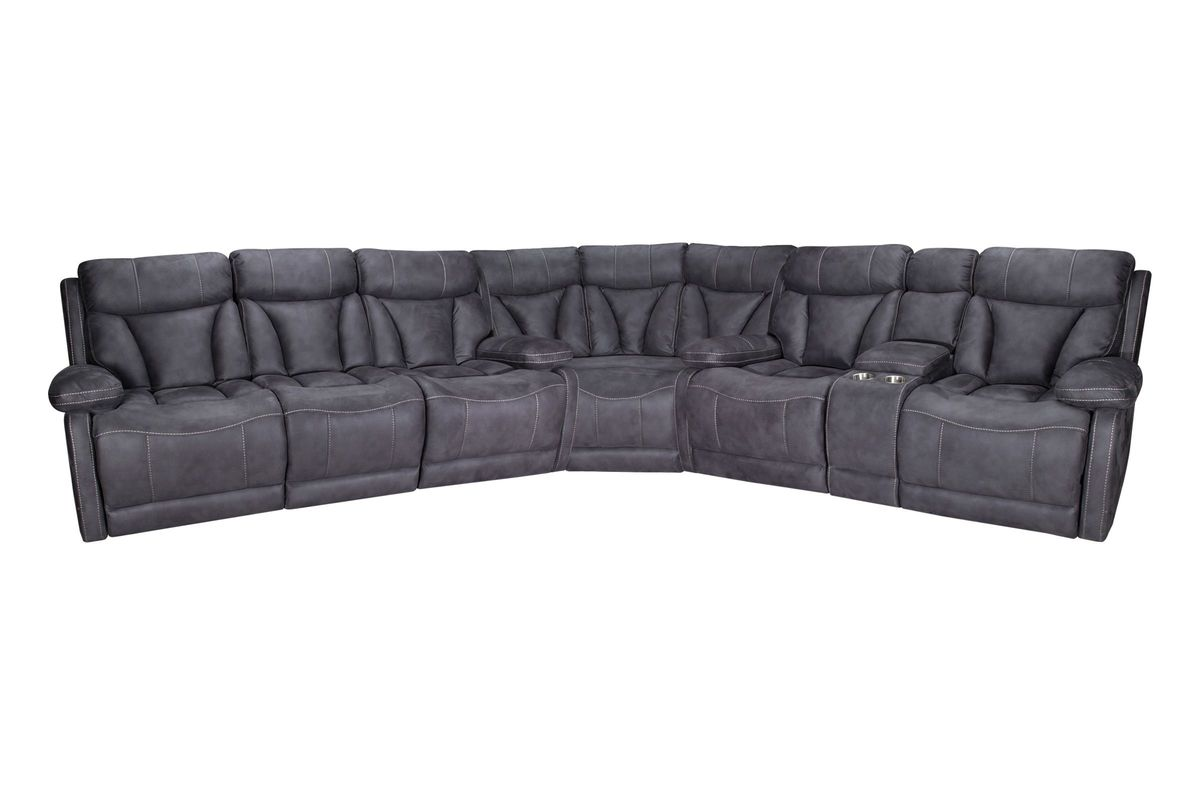 Borwich Power Reclining Sectional from Gardner-White Furniture