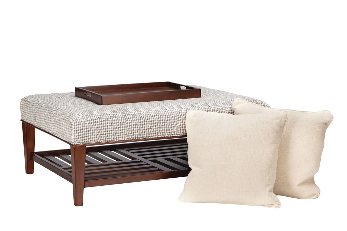 Starlight Cocktail Ottoman with Accent Pillows by Bauhaus by Bauhaus from Gardner-White Furniture