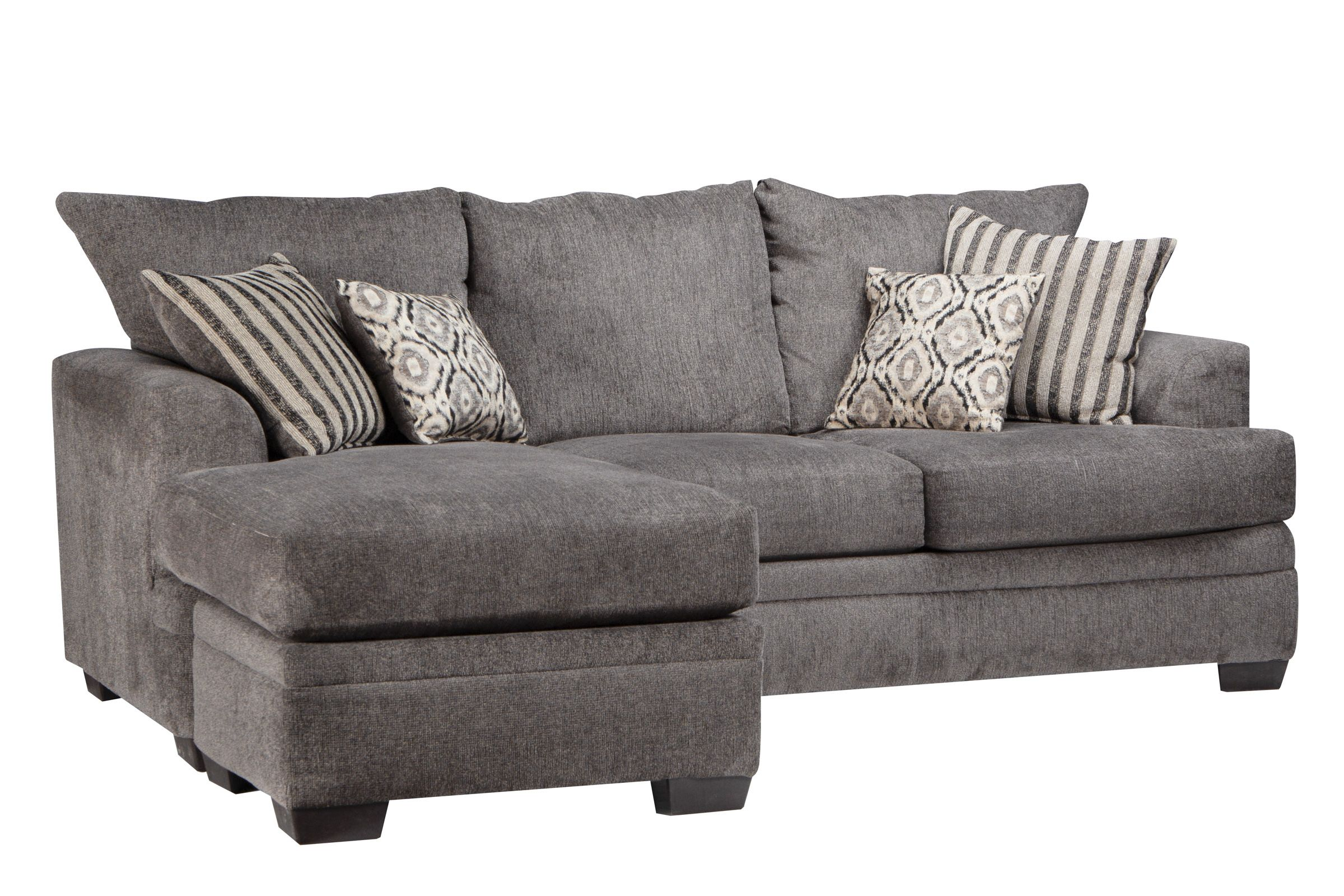 Lynwood Chenille Sectional With Moveable Chaise At Gardner White