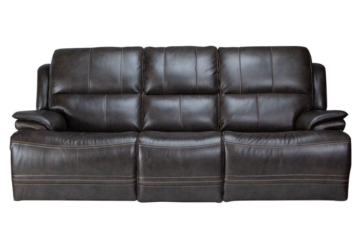 Juno Leather Power Reclining Sofa from Gardner-White Furniture