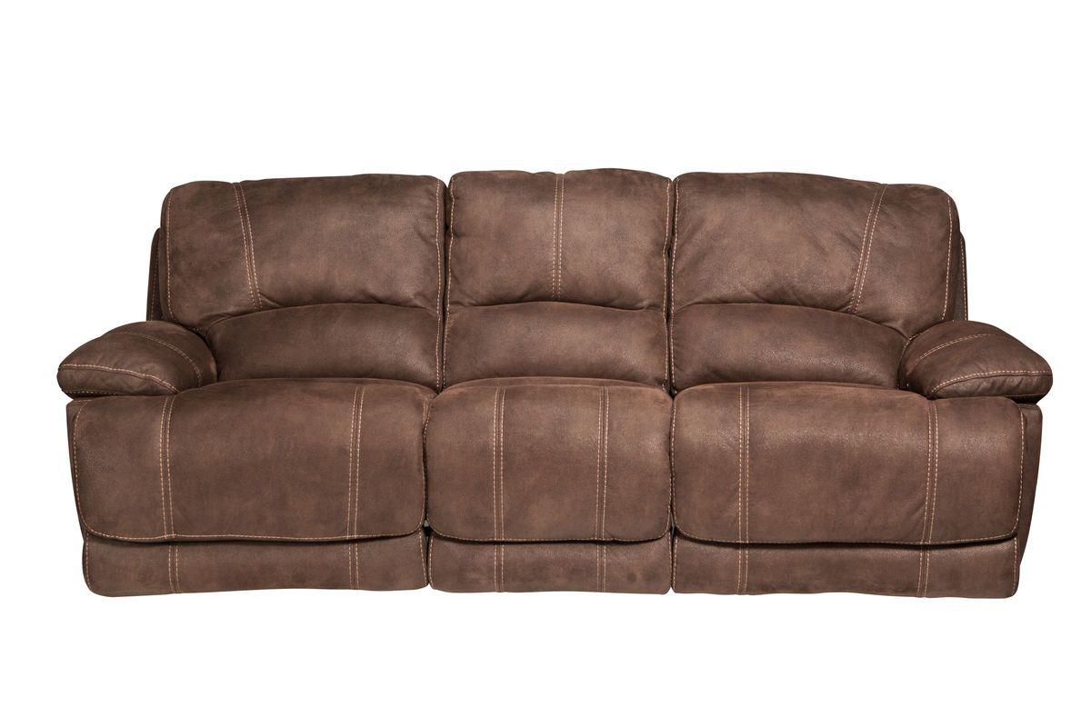 Valeri Microfiber Reclining Sofa from Gardner-White Furniture