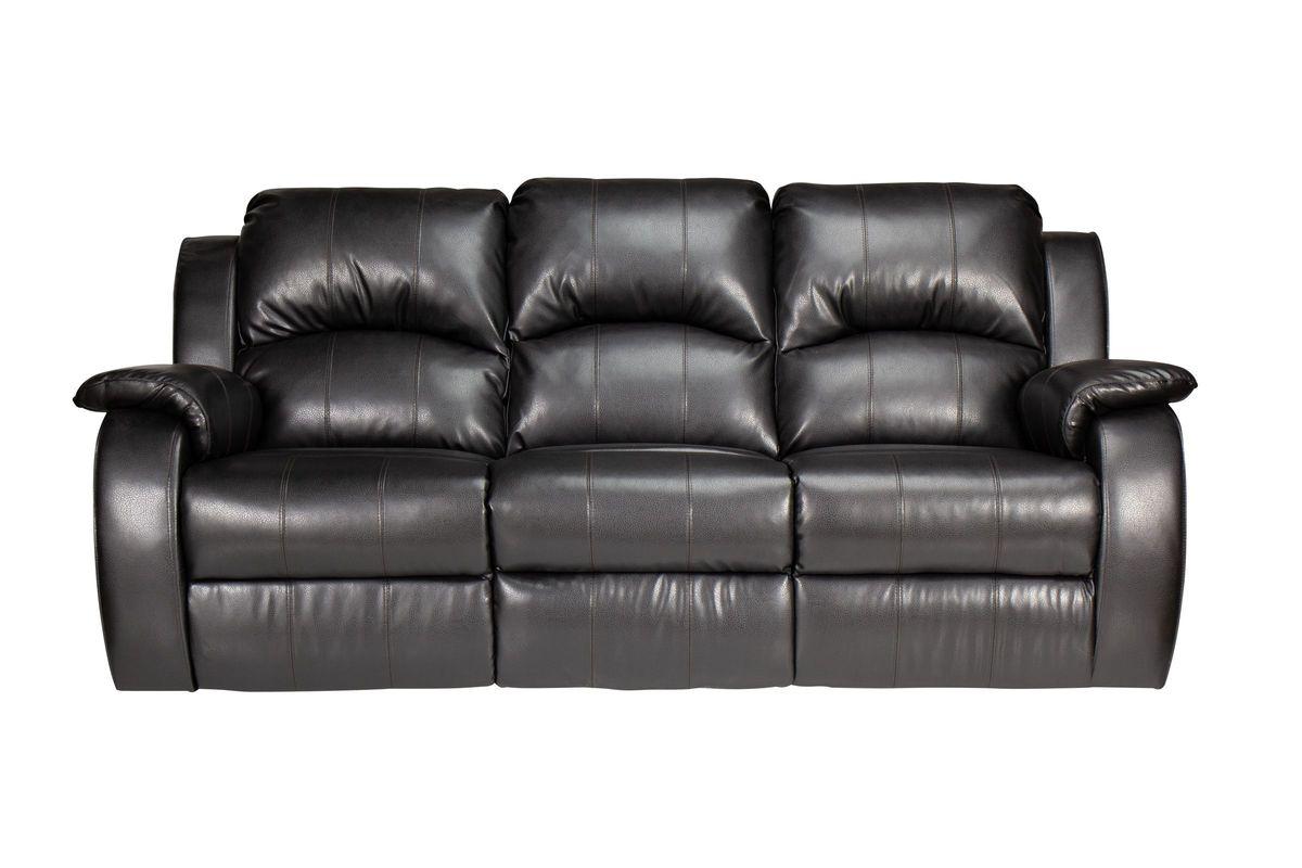 Tahoe Bonded Leather Reclining Sofa from Gardner-White Furniture