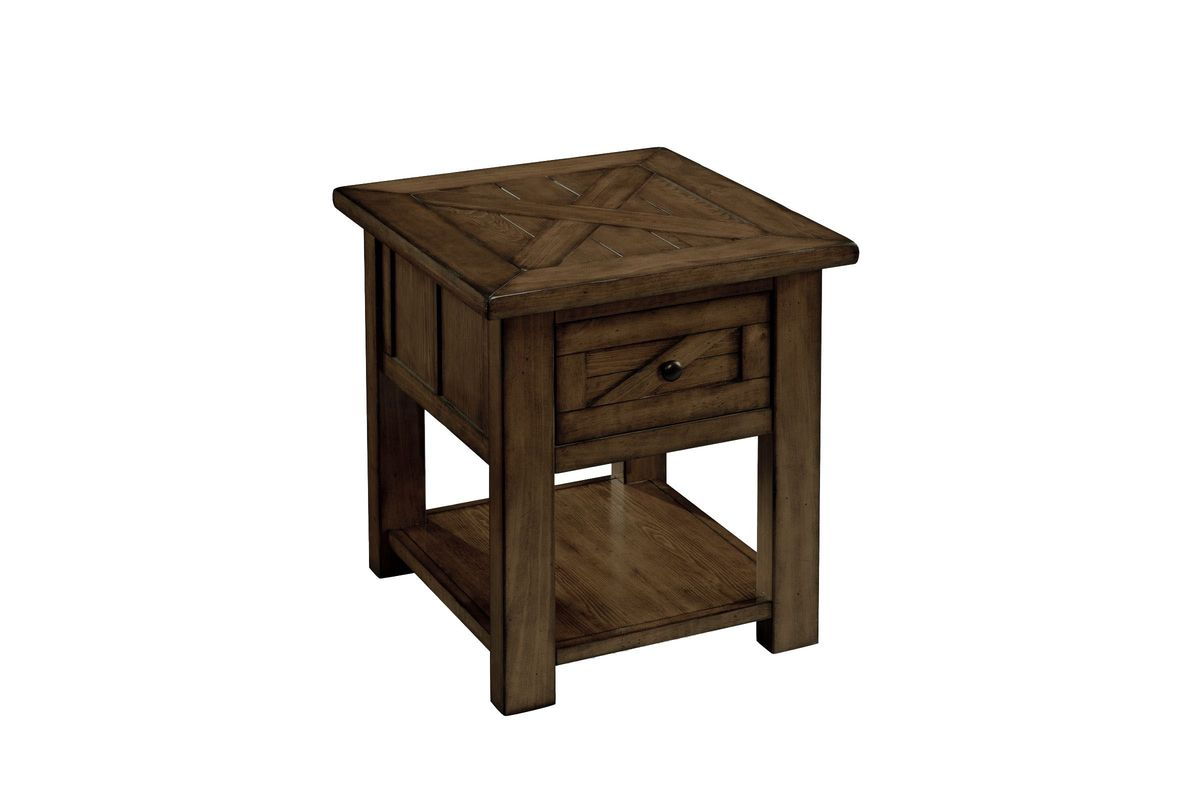 Rustic End Table from Gardner-White Furniture