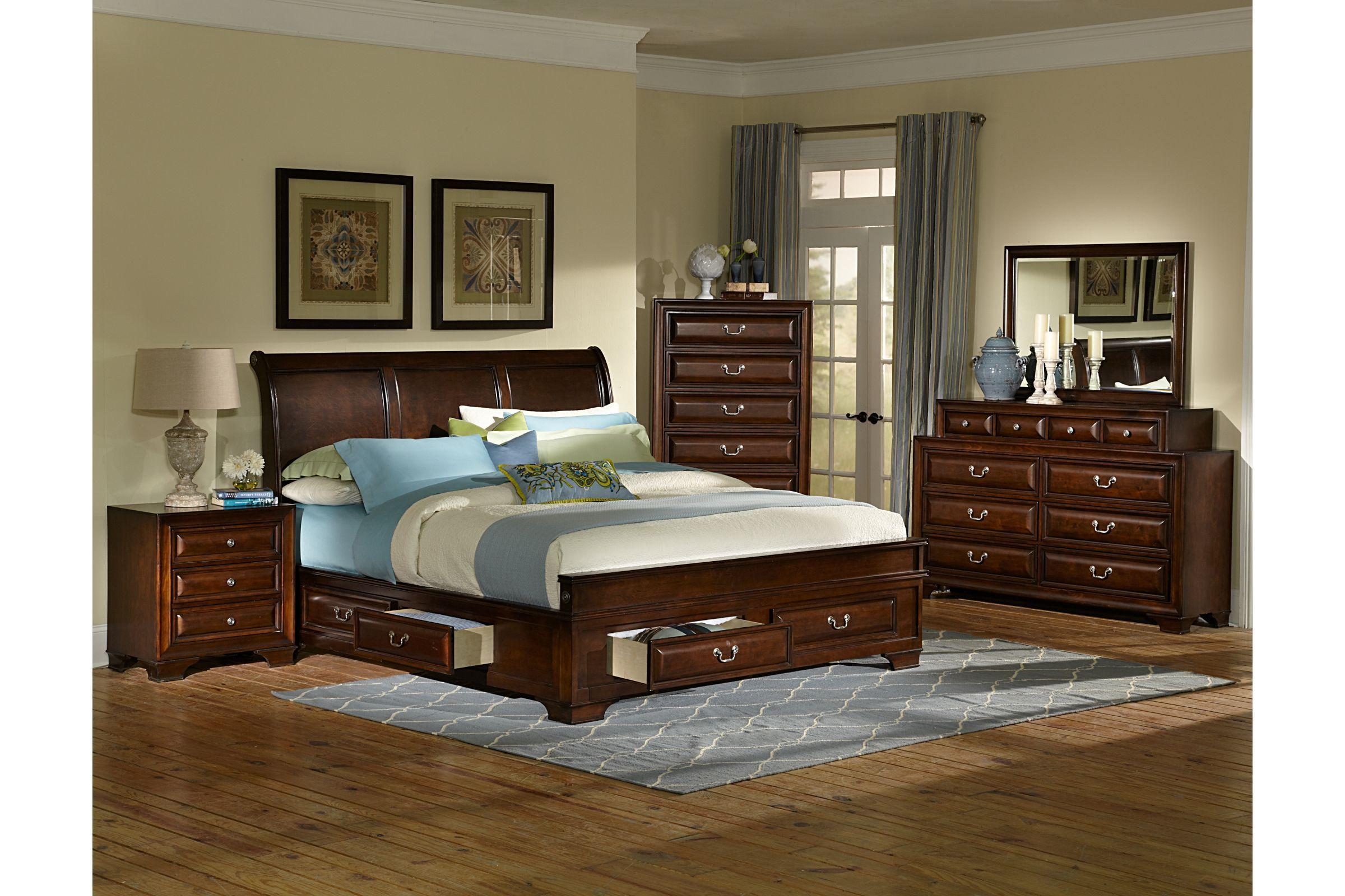 Cadence 4 Piece Queen Bedroom Set At Gardner White