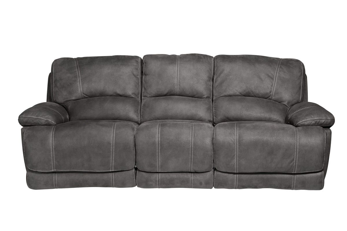 Victor Microfiber Reclining Sofa from Gardner-White Furniture