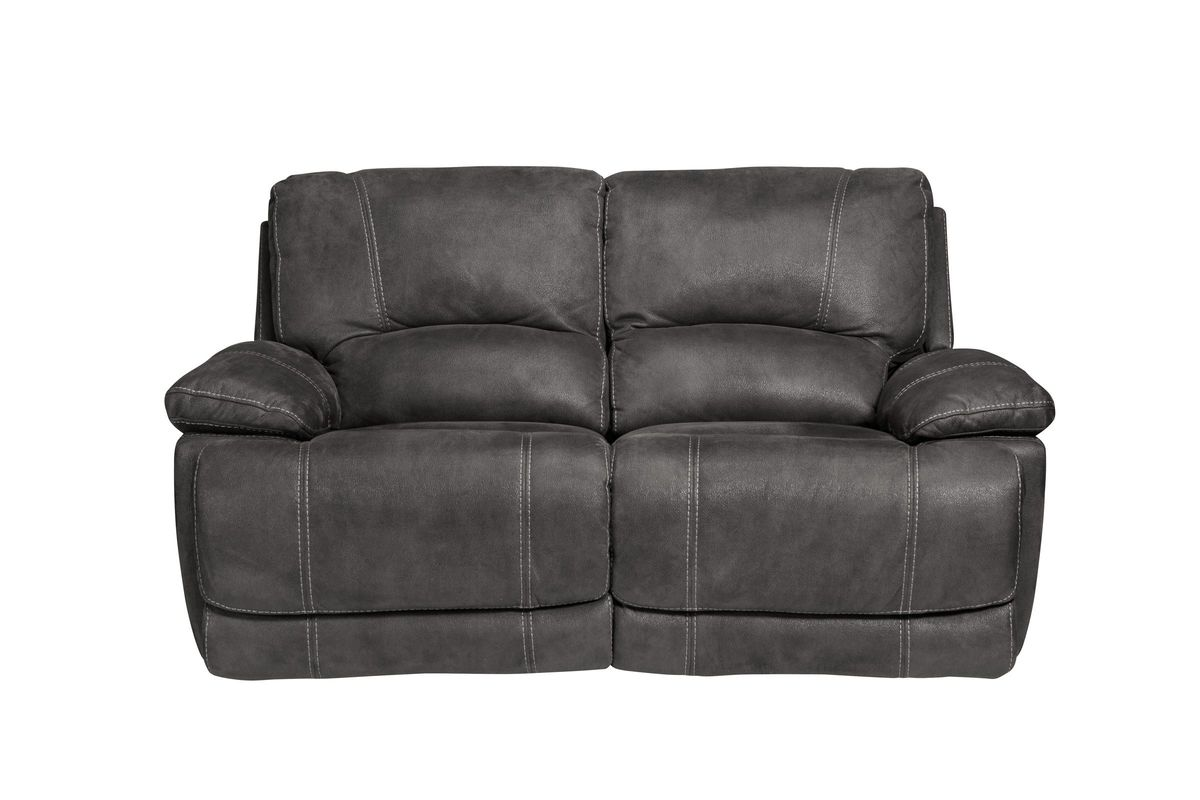 Victor Microfiber Reclining Loveseat from Gardner-White Furniture