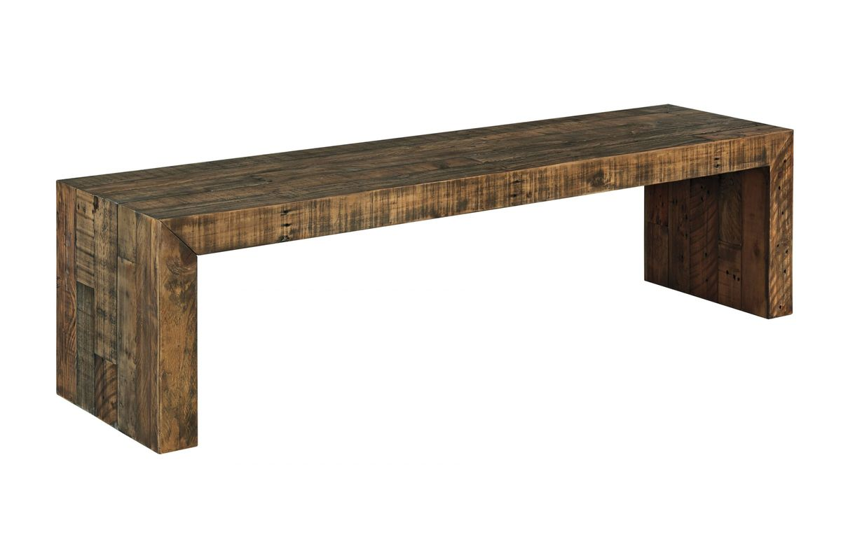 Sommerford Large Dining Room Bench by Ashley from Gardner-White Furniture