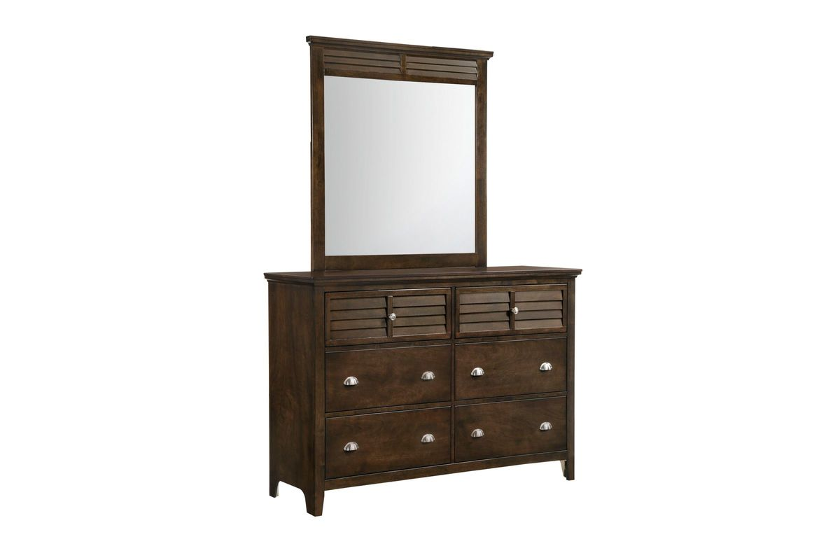 Jersey Dresser with Mirror from Gardner-White Furniture