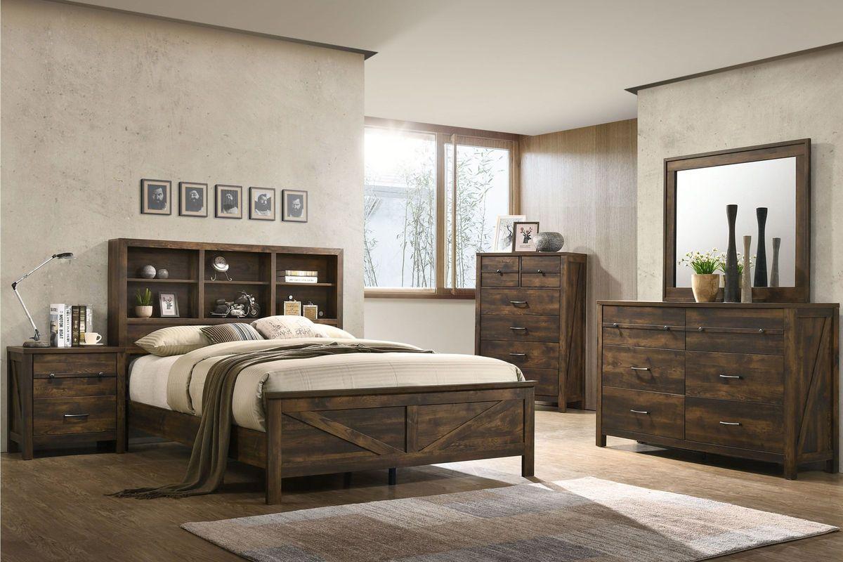 Hayfield 5-Piece King Bedroom Set from Gardner-White Furniture