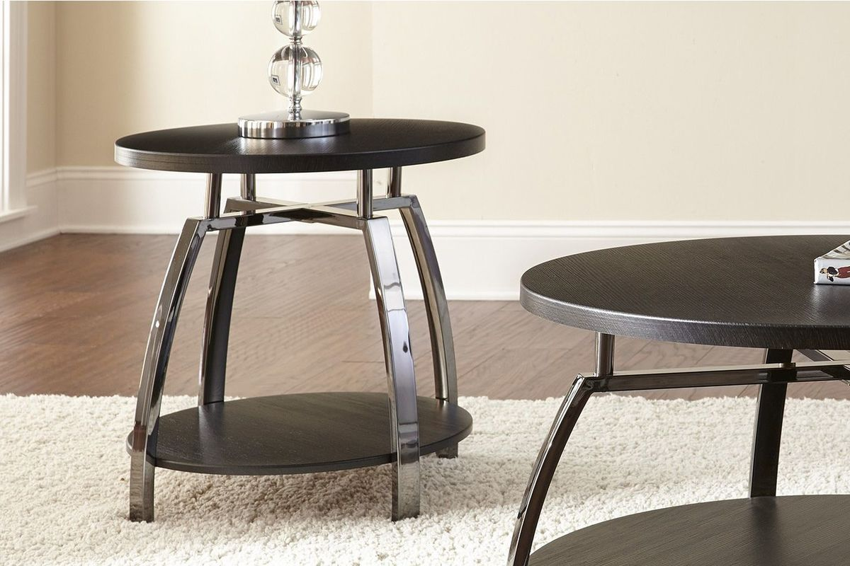 Coham Round End Table from Gardner-White Furniture