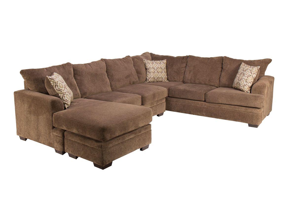 Fillmore Chenille Sectional from Gardner-White Furniture