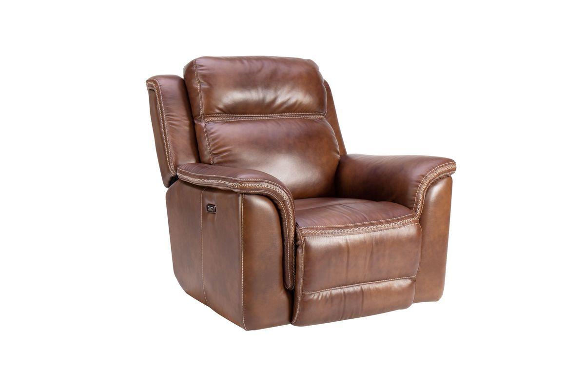 Fargo Leather Power Recliner from Gardner-White Furniture