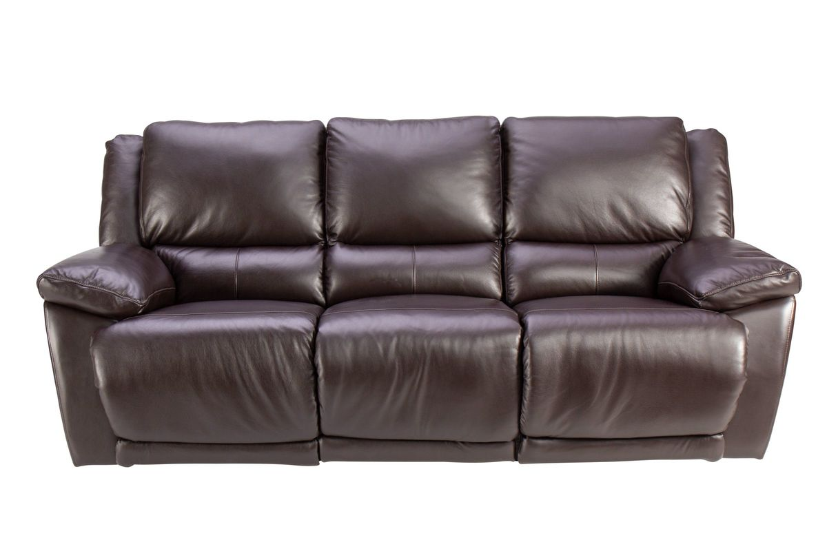 Creed Leather Power Reclining Sofa from Gardner-White Furniture