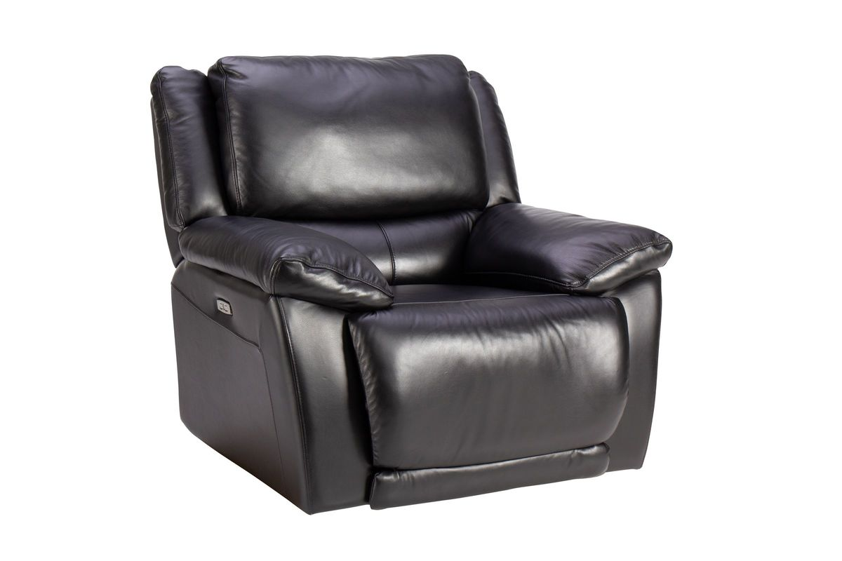 Bermuda Leather Power Recliner from Gardner-White Furniture