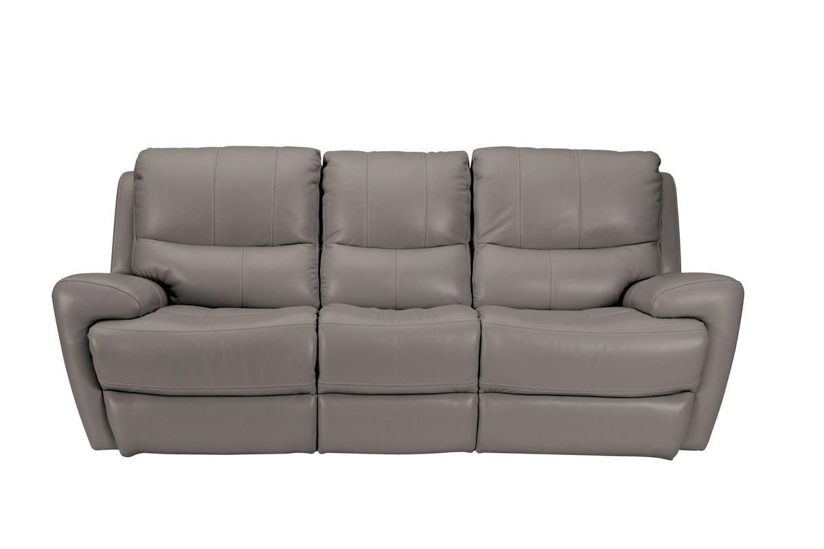 Greystone Leather Power Reclining Sofa from Gardner-White Furniture