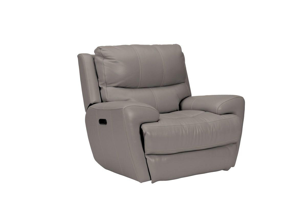 Greystone Leather Power Recliner from Gardner-White Furniture