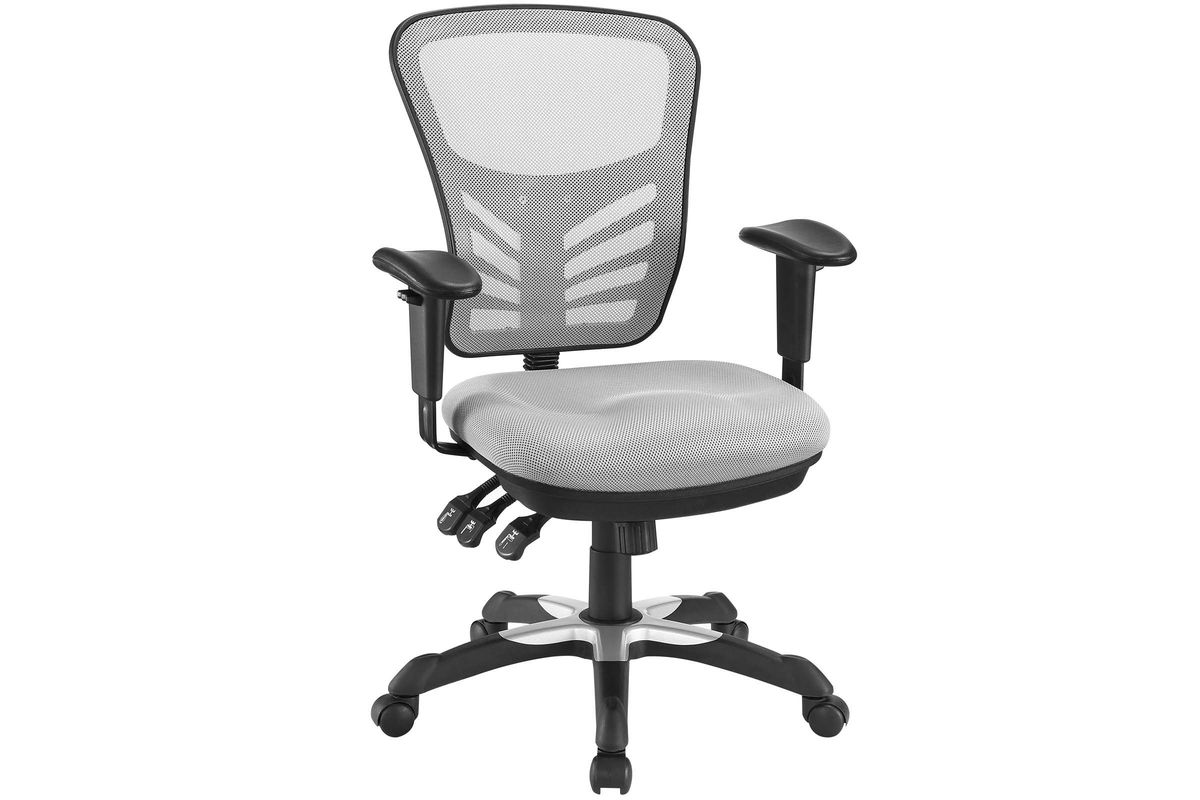 Articulate Mesh Office Chair in Grey by Modway from Gardner-White Furniture