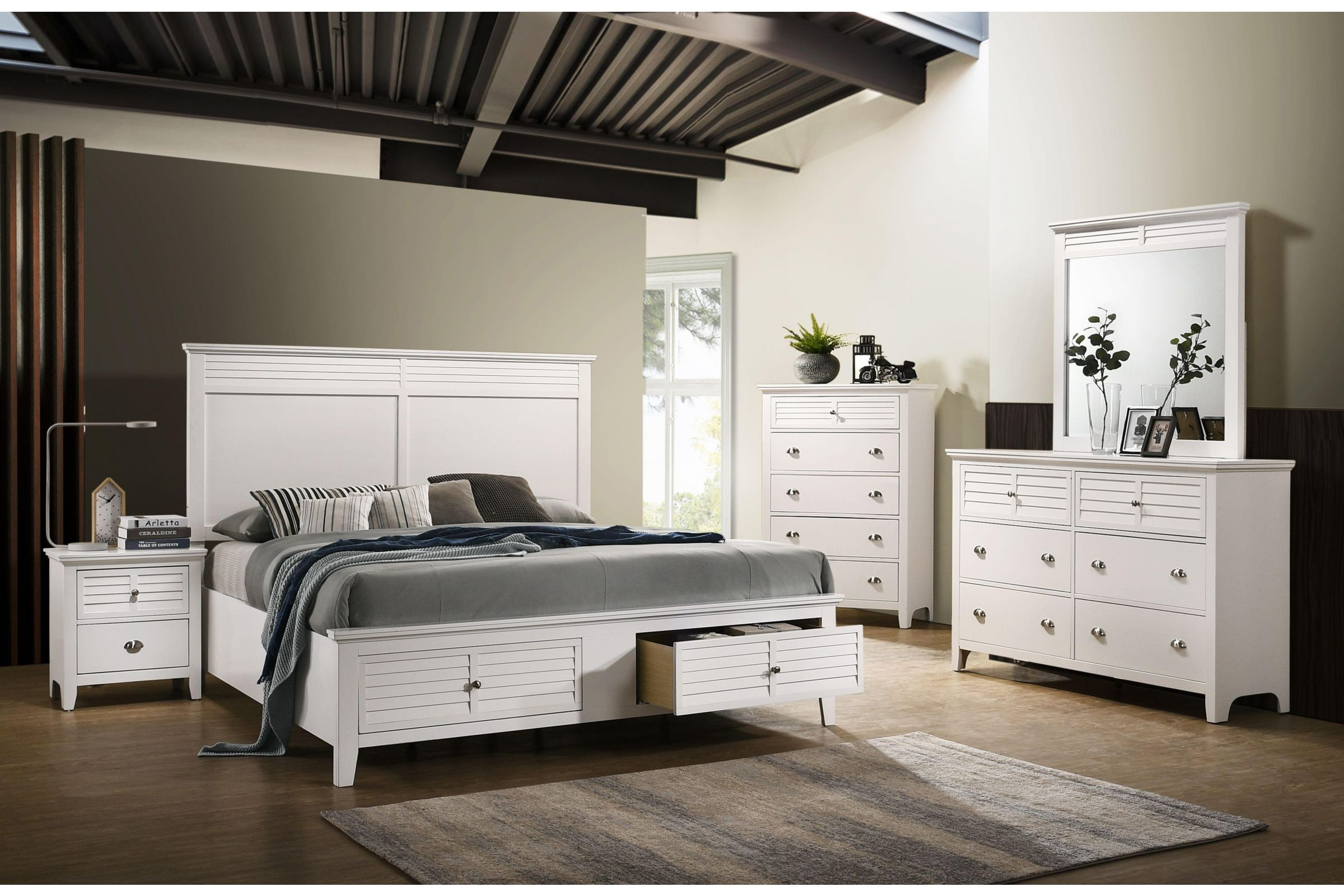 Harbor Twin Storage Bed At Gardner White