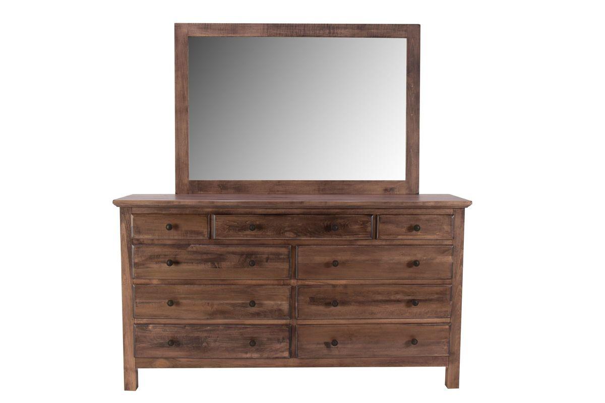 Lewiston Dresser + Mirror by Daniel's Amish from Gardner-White Furniture