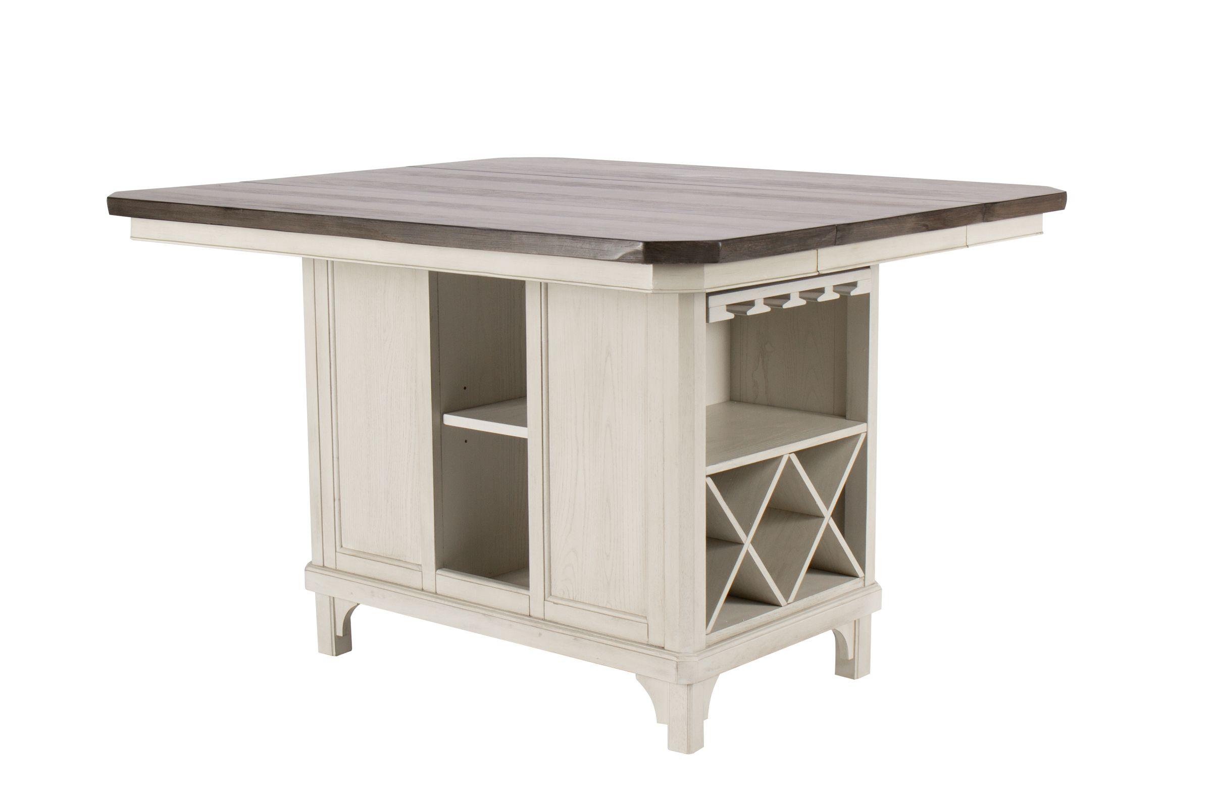 Mystic Kitchen Island Table At Gardner White
