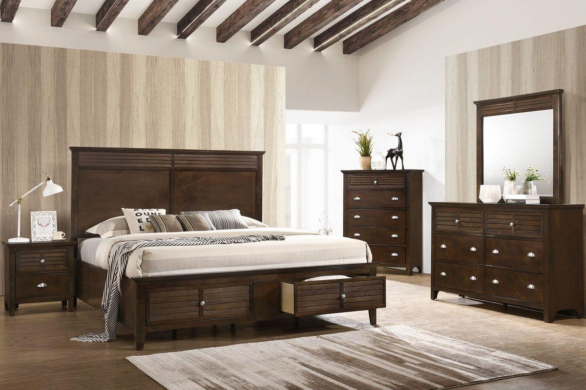Jersey Queen Storage Bed from Gardner-White Furniture