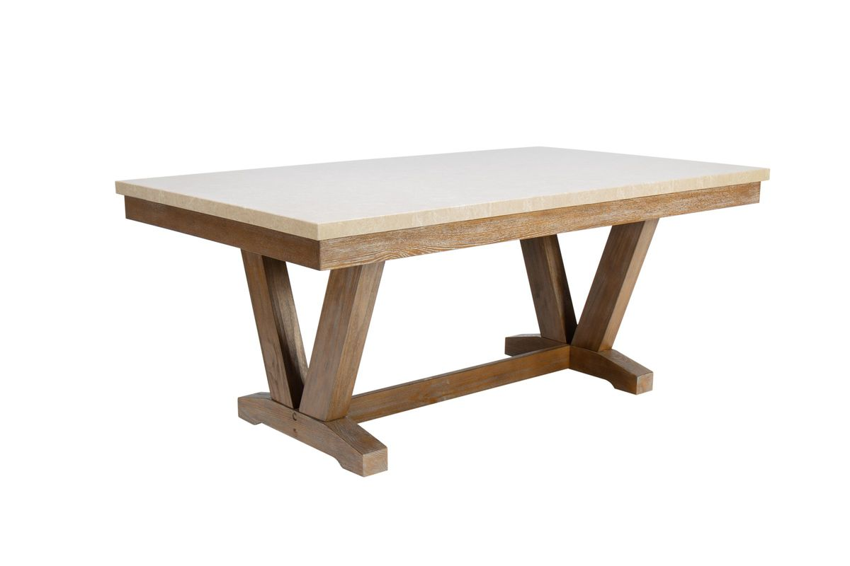 Tristan Trestle Dining Table from Gardner-White Furniture