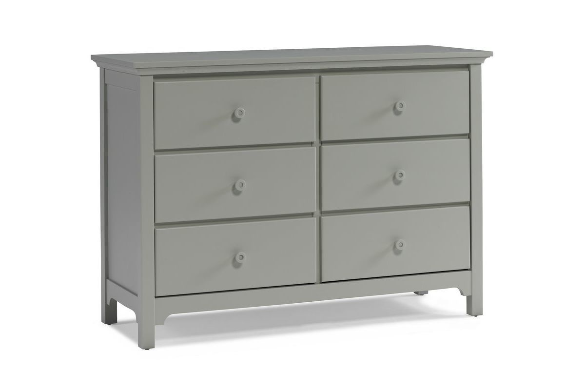 Ti Amo Double Dresser in Misty Grey by Bivona from Gardner-White Furniture