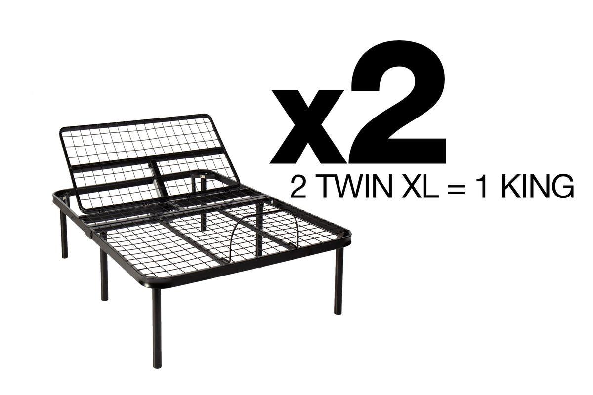 BedTech HeadUp King (2 Twin XL) Adjustable Base from Gardner-White Furniture