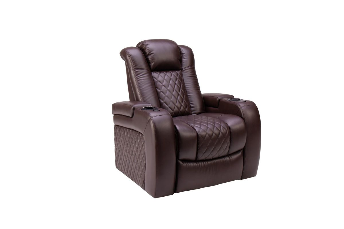 Newton Recliner with Power Head/Foot Rests from Gardner-White Furniture