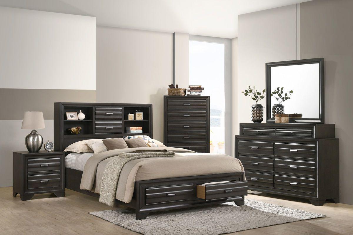 Briscoe King Storage Bed from Gardner-White Furniture