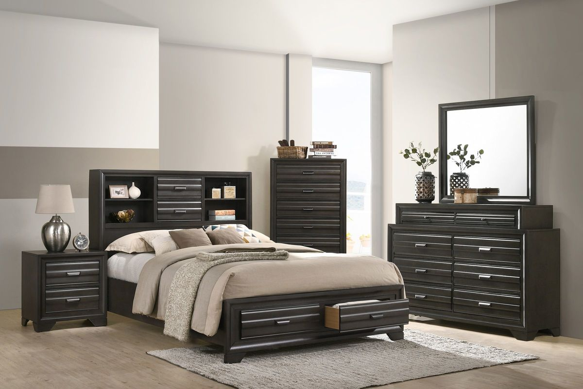 Briscoe Full Storage Bed from Gardner-White Furniture