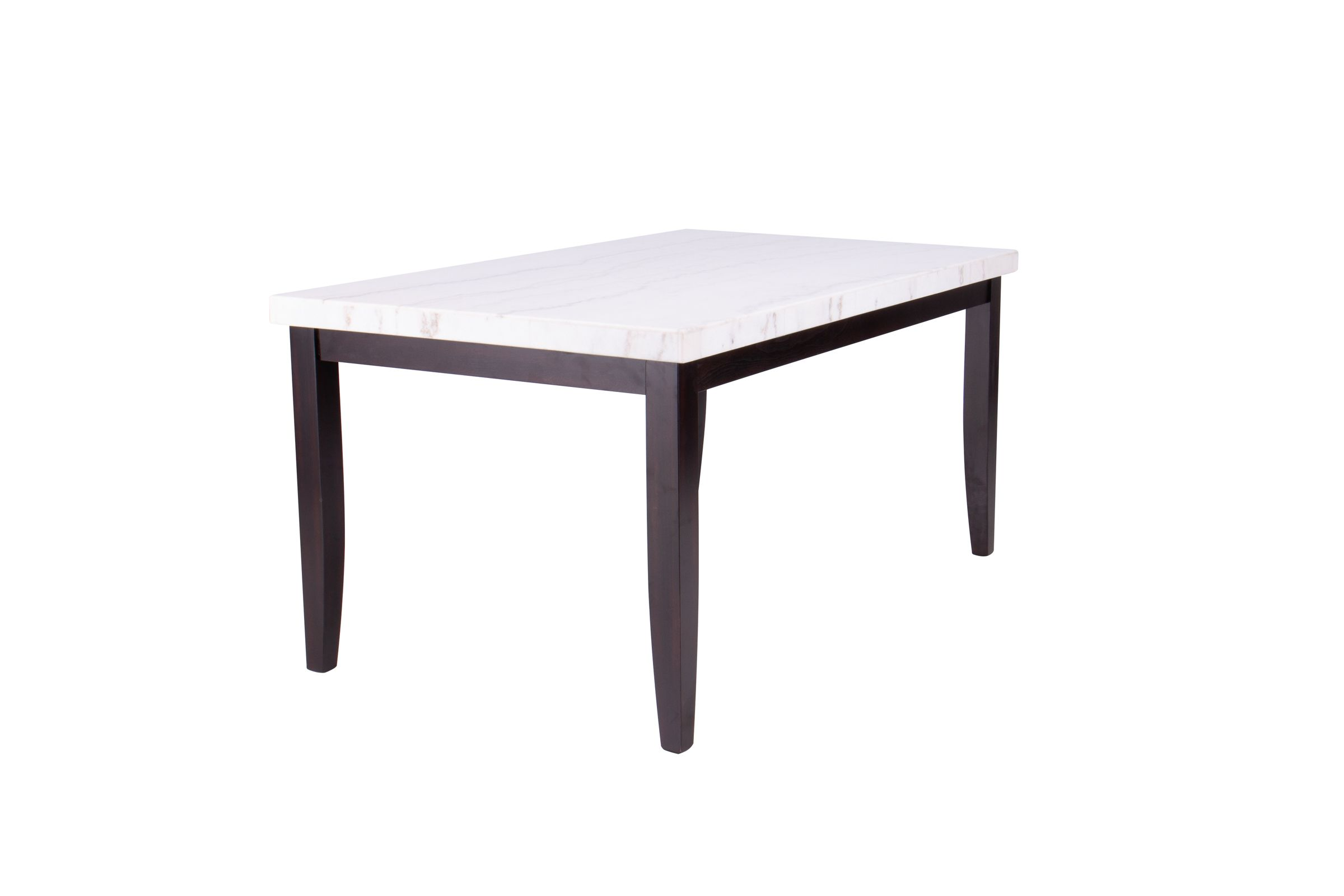 Westby Genuine White Marble Dining Table At Gardner White