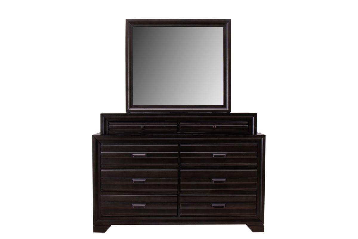 Briscoe Dresser + Mirror from Gardner-White Furniture