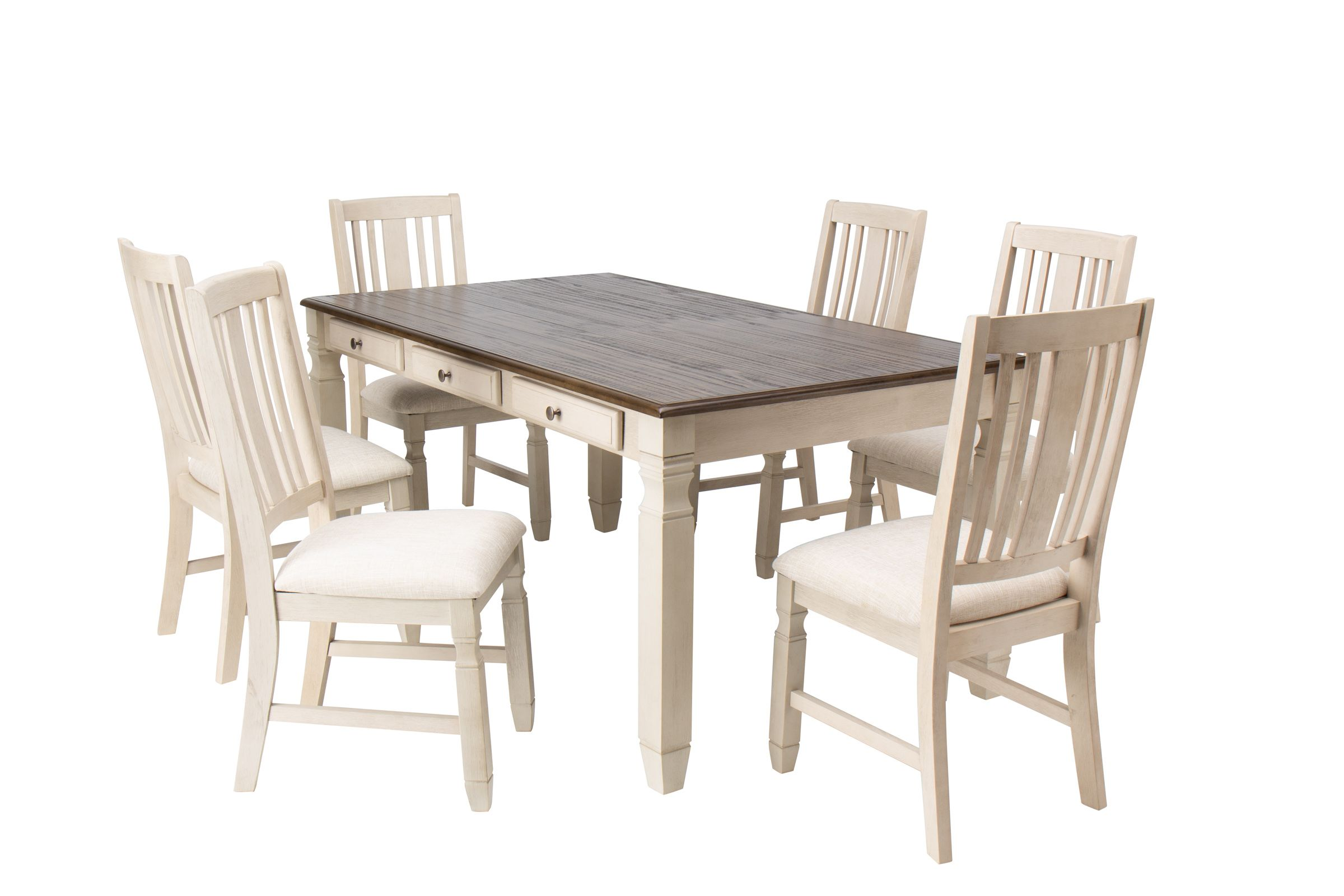 Cucina Letters Kitchen Decor, Venus Dining Table 6 Side Chairs At Gardner White