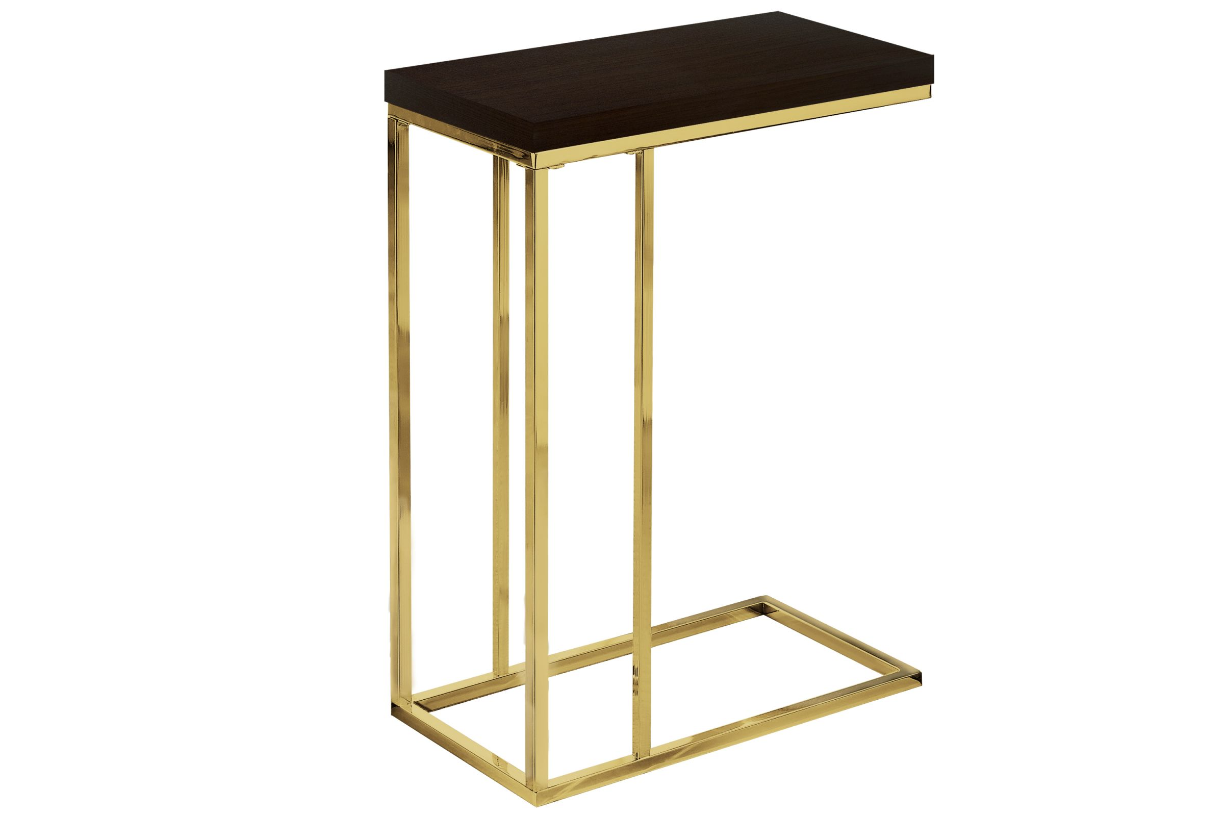 - Cappuccino Contemporary Accent Table By Monarch At Gardner-White