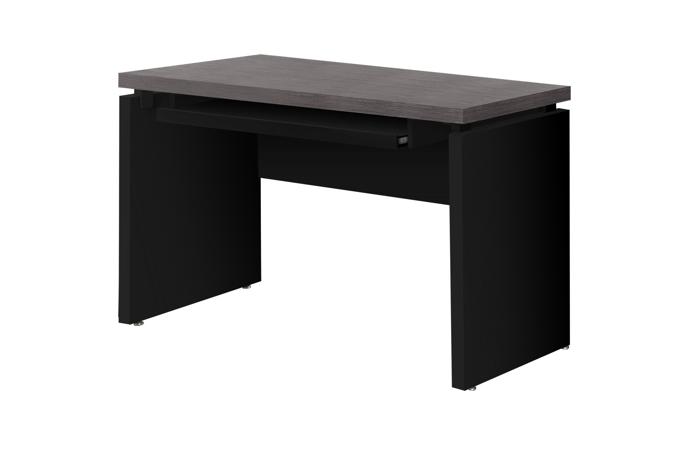 Black Computer Desk With Pull Out Keyboard Tray At Gardner White