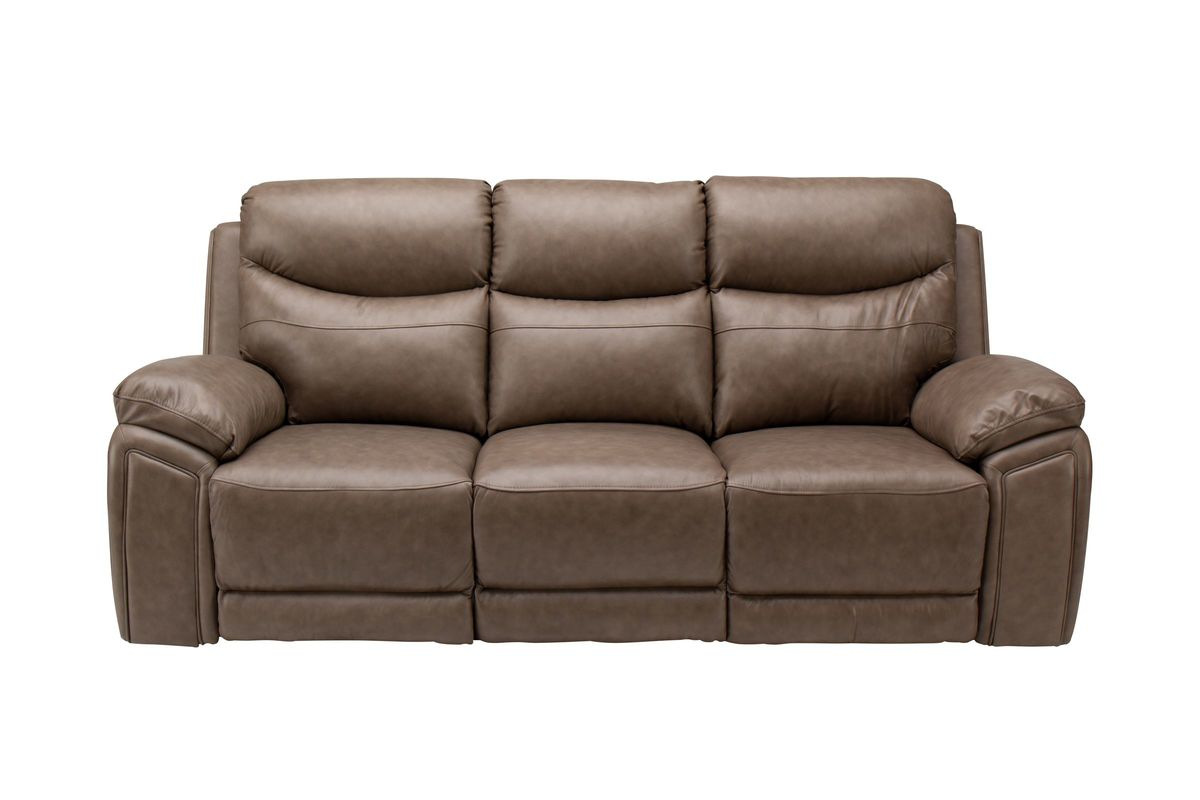 Remsen Leather Power Reclining Sofa from Gardner-White Furniture