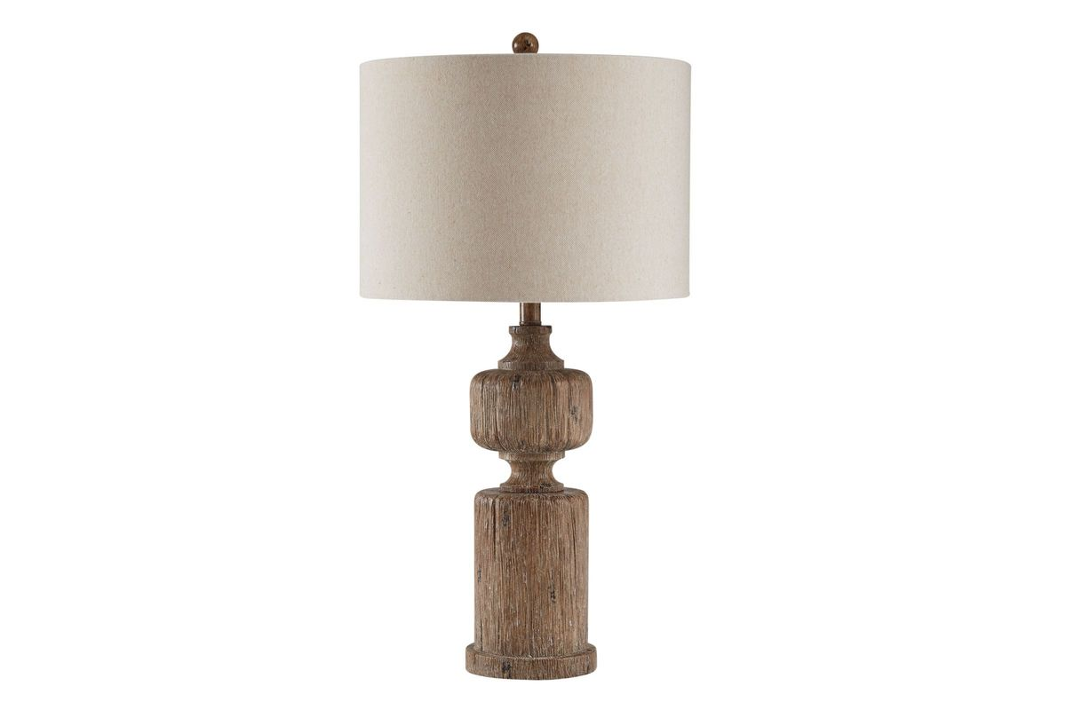 Driftwood Table Lamp from Gardner-White Furniture