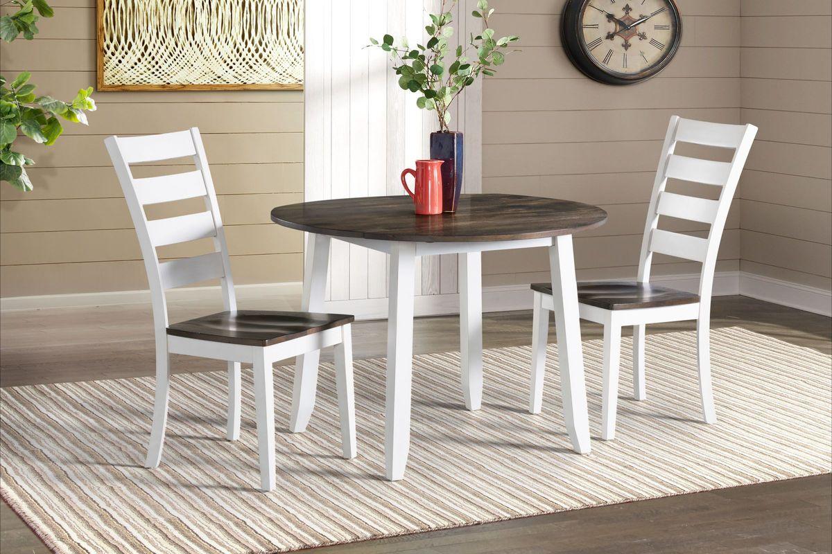 Kodi Solid Wood Drop Leaf Table from Gardner-White Furniture